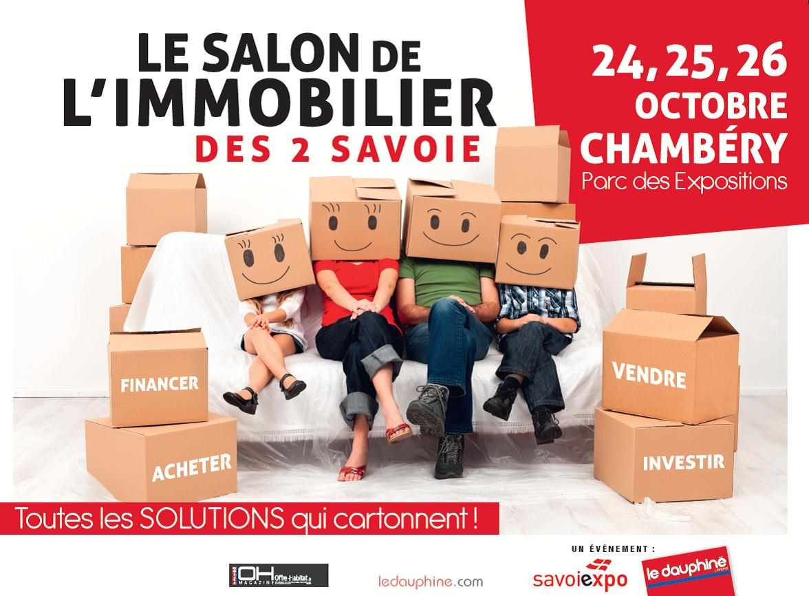 Rjo promotion salon de l 39 immobilier des 2 savoie 24 26 for Salon immobilier chambery