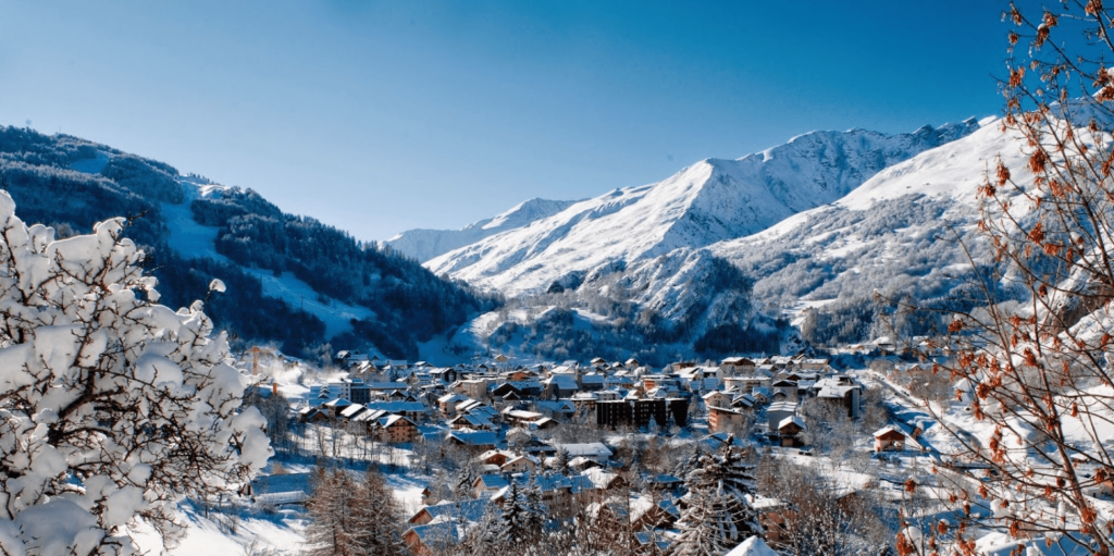 Village Valloire Hiver