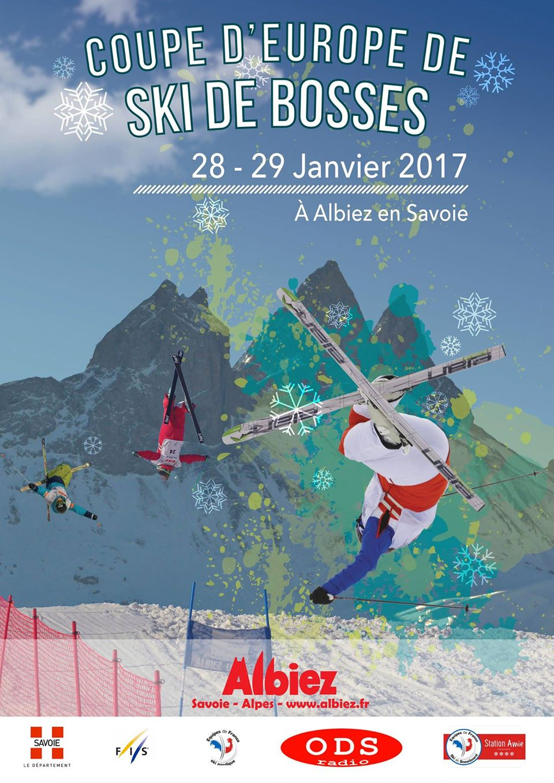 Retour sur la Coupe d'Europe de Ski de Bosses Albiez